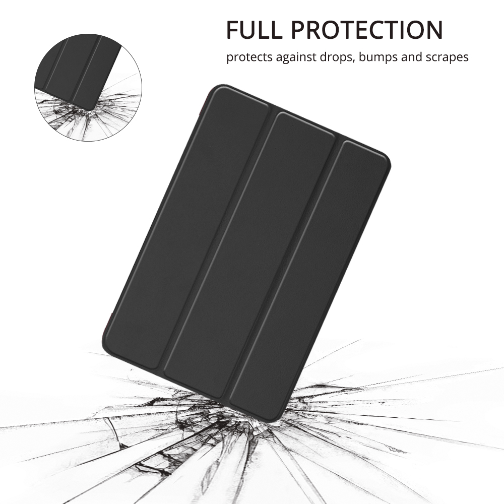 Compatible With iPad Mini 5 4 7.9'' Lightweight Stand Case Full Protection Leather Folding Folio Cover + Free iPad Pen Holder 4