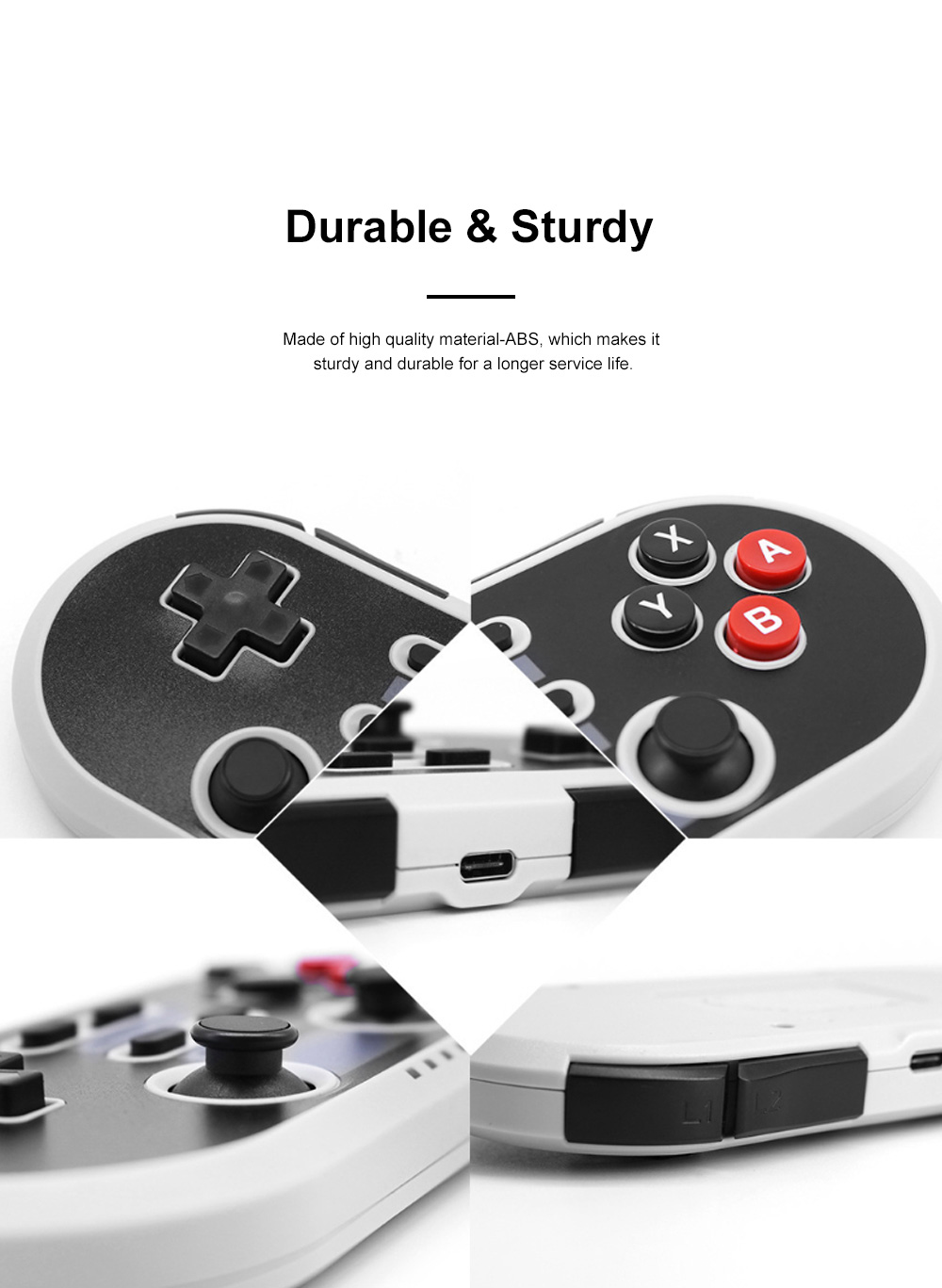 For Switch PS3 Handle Game Controller Mobile Game Connector Retro Game Console with Strong Compatibility and Sensitive Reaction 5