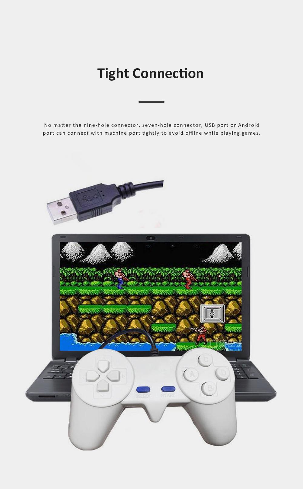 Powkiddy Gamepad Multiple Port Designed Joy Stick Compatible for D101 D99 D68 Game Machines 4
