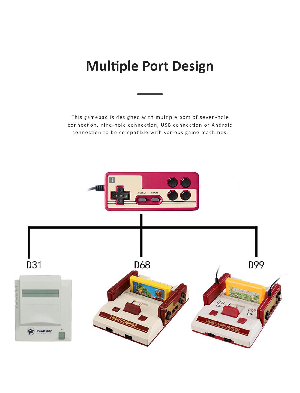 Powkiddy Gamepad Multiple Port Designed Joy Stick Compatible for D101 D99 D68 Game Machines 5
