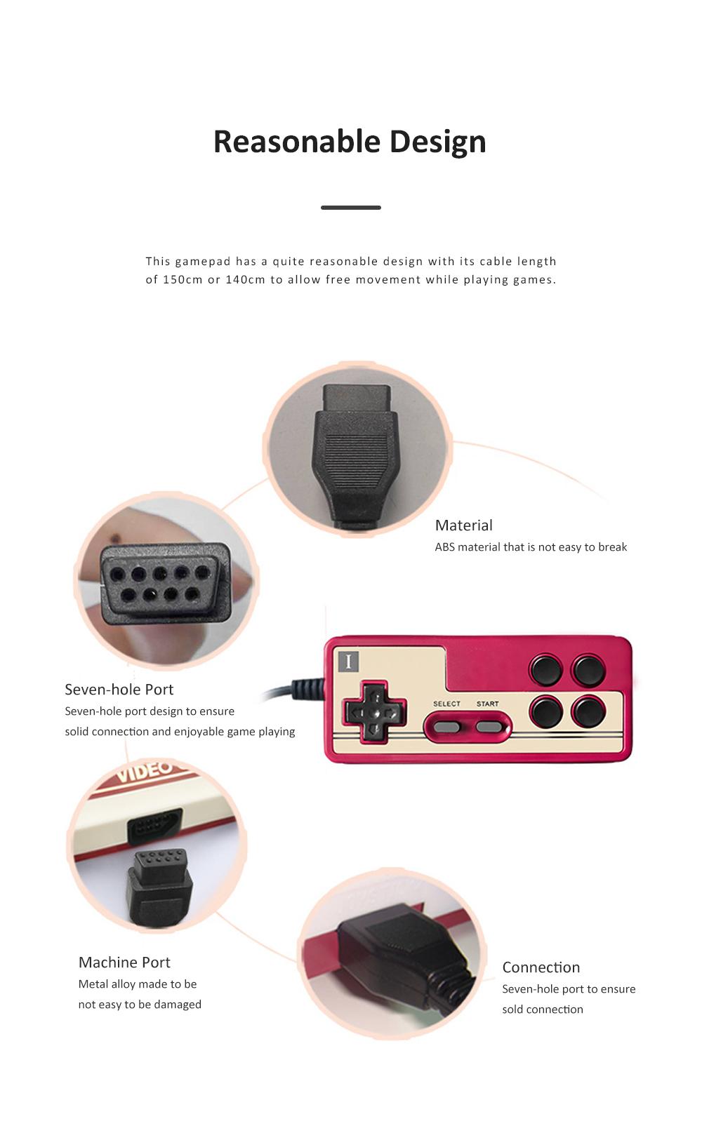 Powkiddy Gamepad Multiple Port Designed Joy Stick Compatible for D101 D99 D68 Game Machines 1