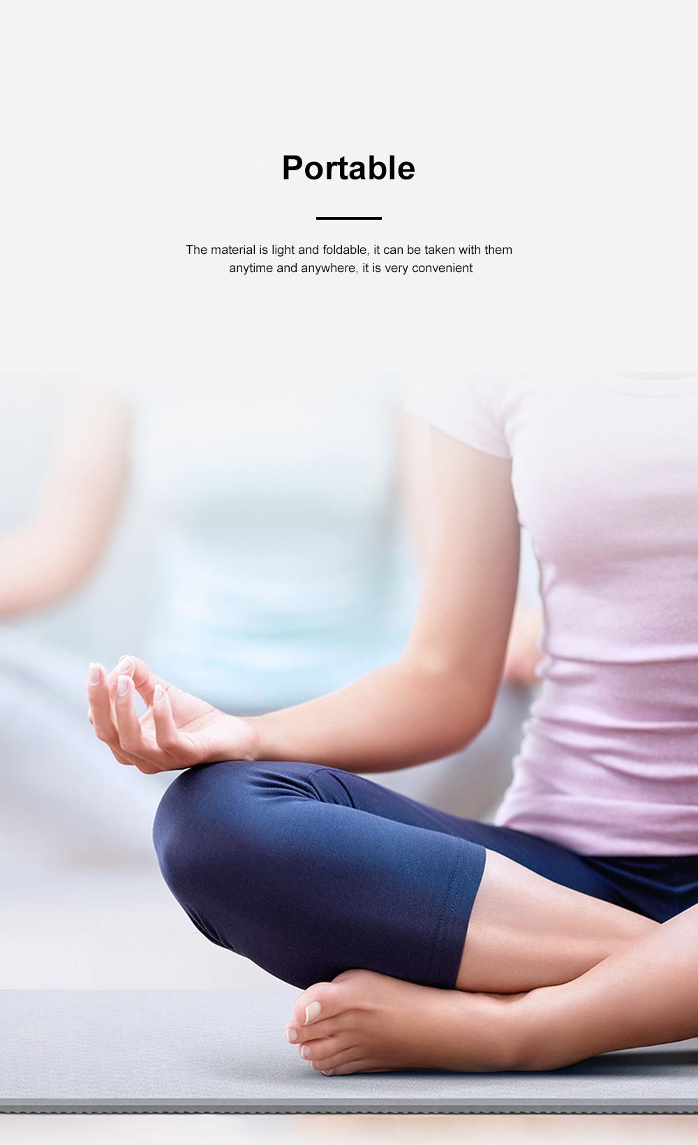 Yunmai Sport Yoga Mat Eco Friendly Durable Yoga Mat Thick Fitness Foldable Travel Exercise Non Slip Yoga Blanket 5