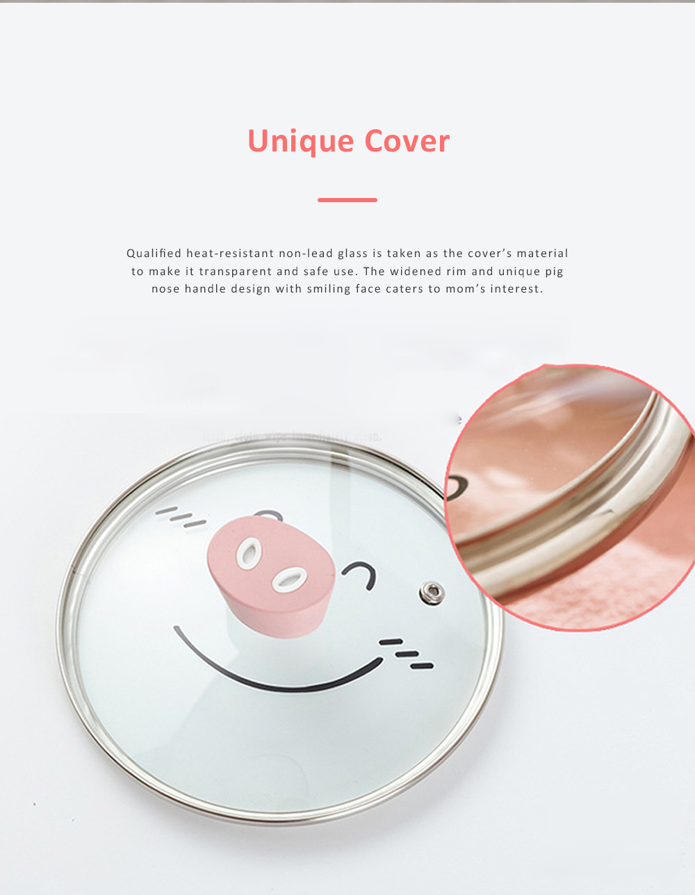 Didinika Cookware for Baby Food Making Multifunctional Non-stick Medical Stone Pot Infant Milk Pan Korean Style Medical Stone Pot 6