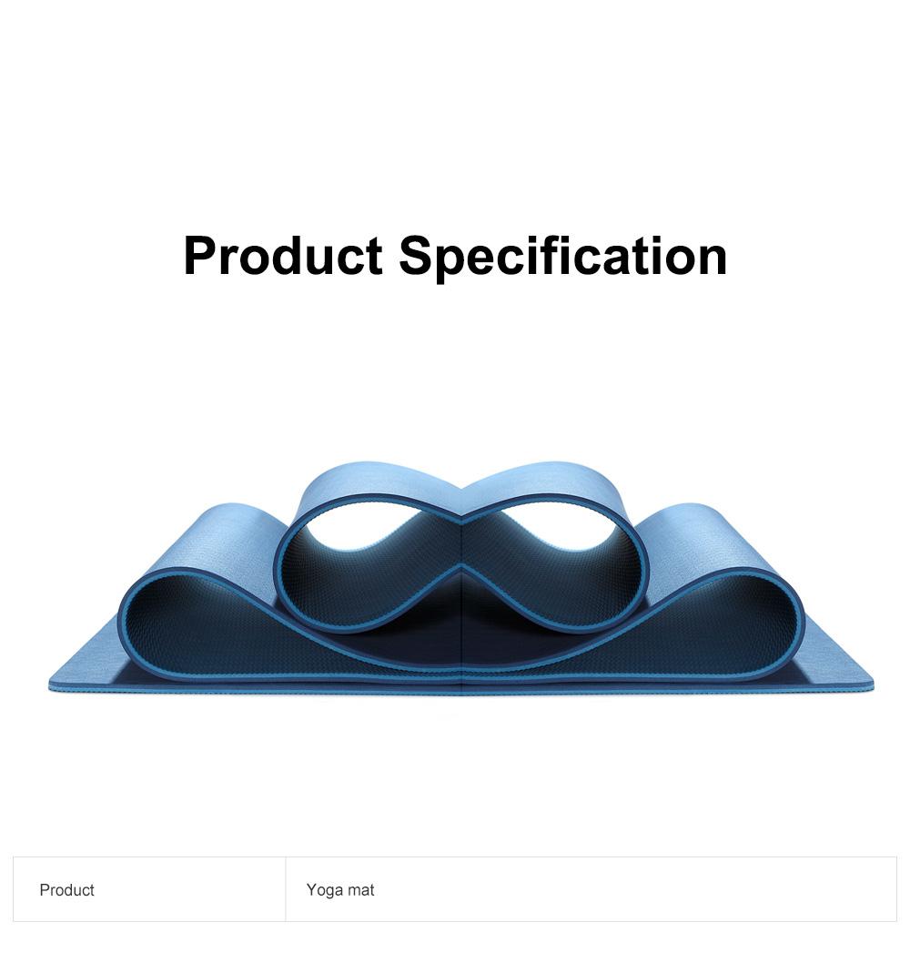 Yunmai Sport Yoga Mat Eco Friendly Durable Yoga Mat Thick Fitness Foldable Travel Exercise Non Slip Yoga Blanket 6