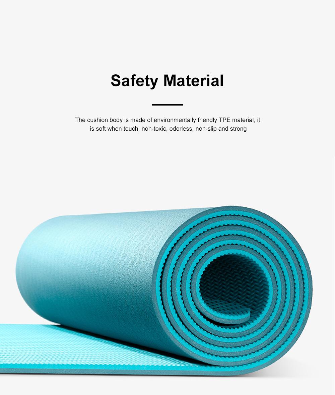 Yunmai Sport Yoga Mat Eco Friendly Durable Yoga Mat Thick Fitness Foldable Travel Exercise Non Slip Yoga Blanket 3