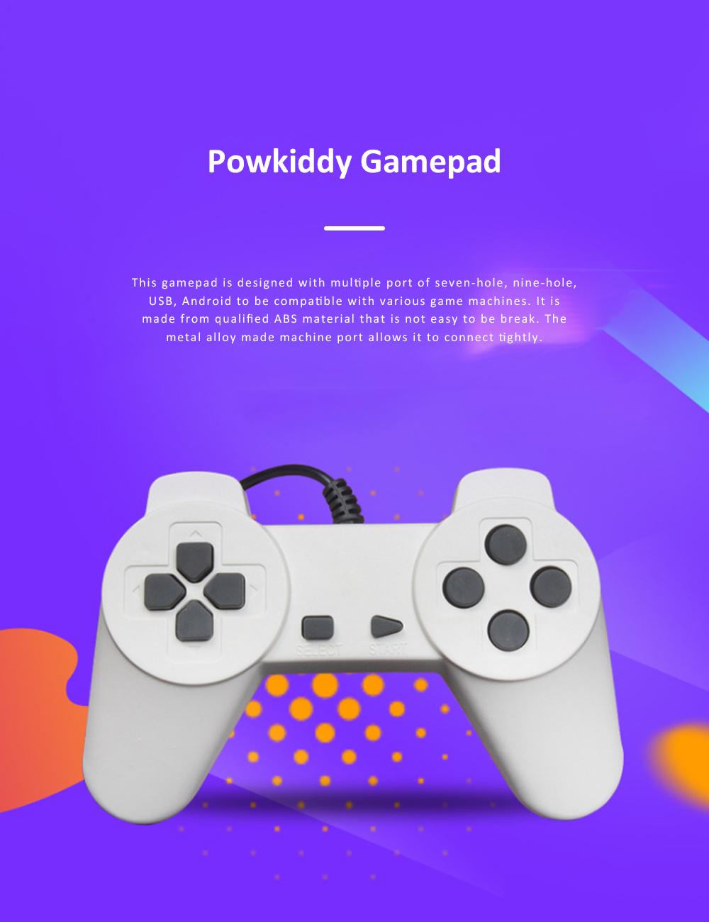 Powkiddy Gamepad Multiple Port Designed Joy Stick Compatible for D101 D99 D68 Game Machines 0