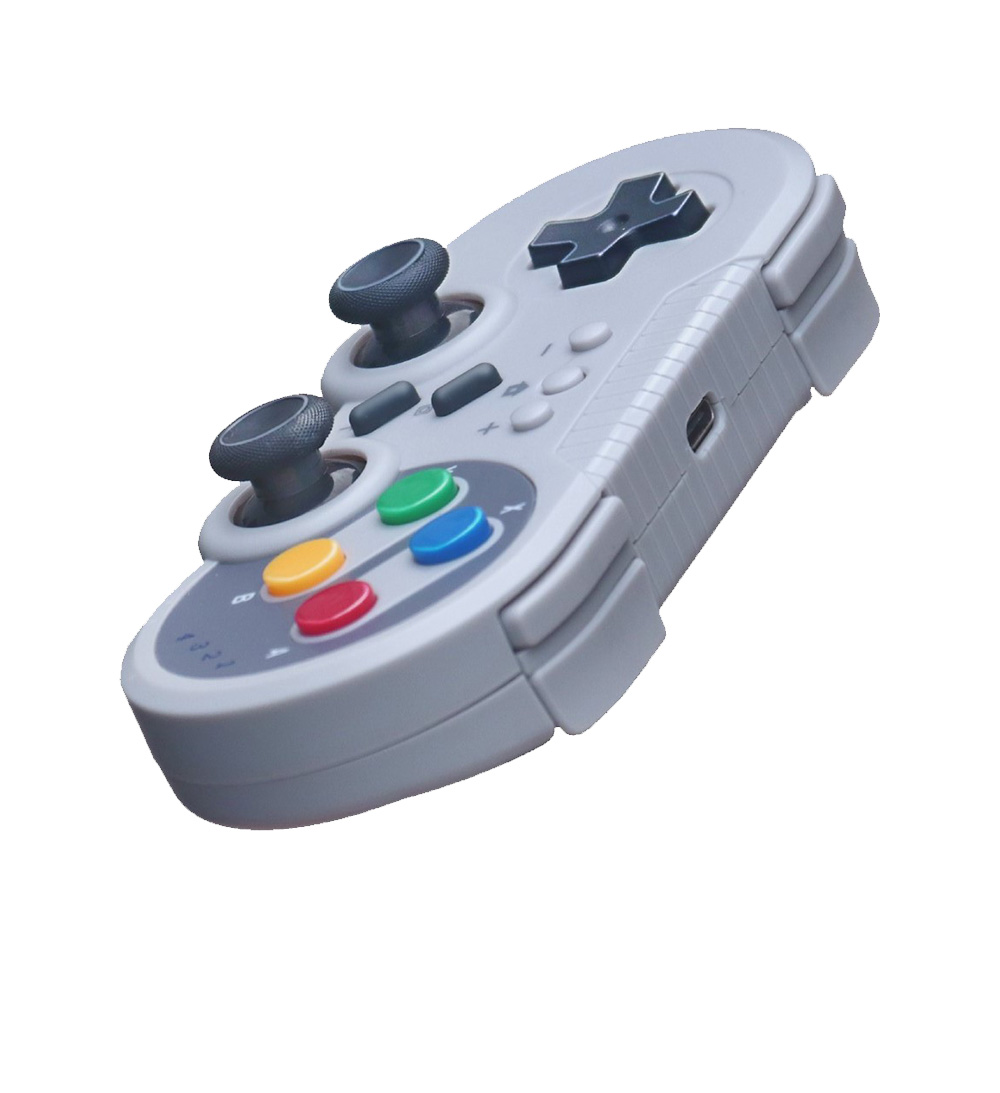 Switch Lite Pro Xbox 360 PS4 Offwhite Wireless Bluetooth Gaming Joypad Light Weight Motion Sensing Games Joystick Controller 2