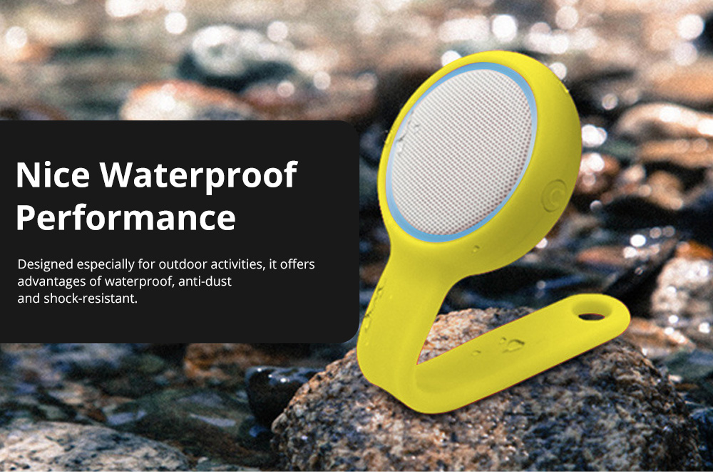 MiLi M80 Bluetooth Wearable Sound Box with Changeable Appearance for Both Home Use & Ourdoor activities Portable Mini-sized Voice Box Perfect Present 4