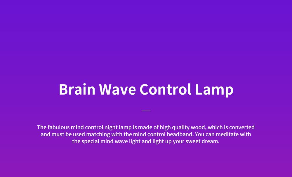 Creative LED Light Mind Controlling Folding Book-shaped Lamp Bedroom Book Reading Night Lamp Visual Brain Wave Control Book Light 0