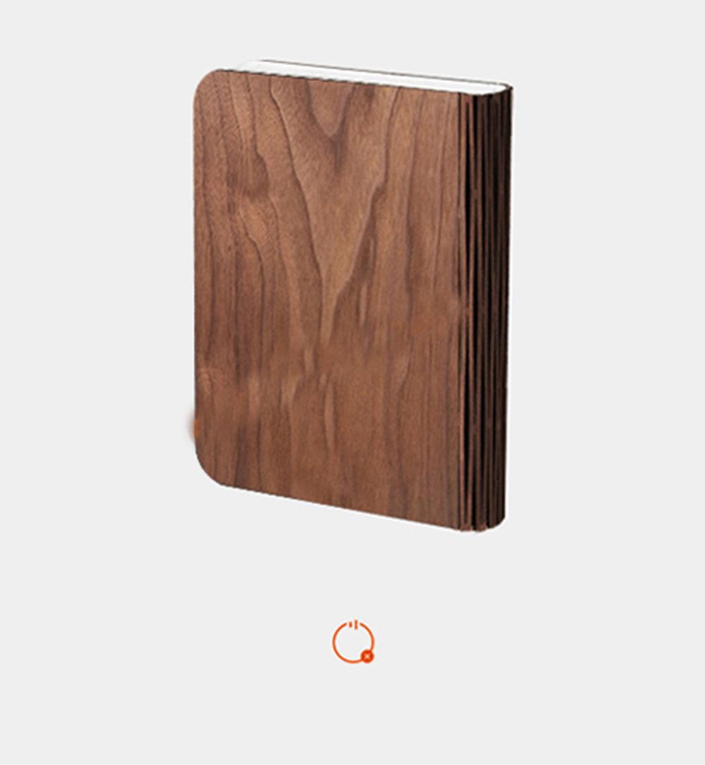 Creative LED Light Mind Controlling Folding Book-shaped Lamp Bedroom Book Reading Night Lamp Visual Brain Wave Control Book Light 10