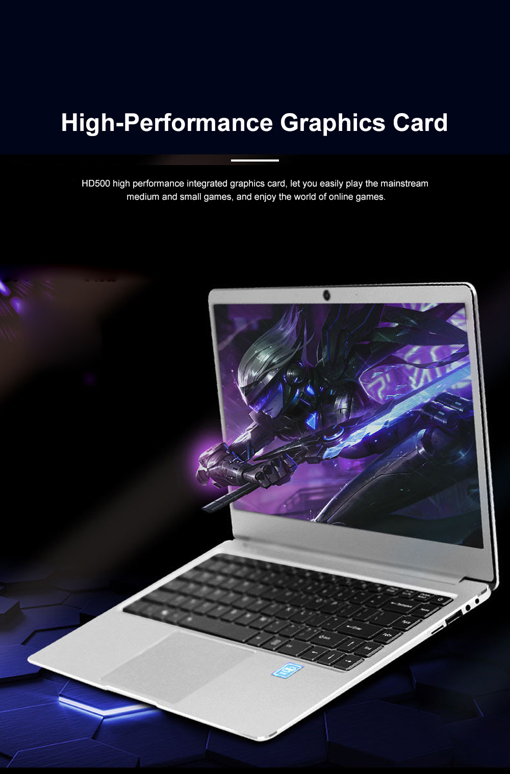 I4 Inch N3450 Laptop Intel Quad-Core ProBook with 1920*1080 HD Resolution Ultra Slim Notebook with Wide View Angle 4