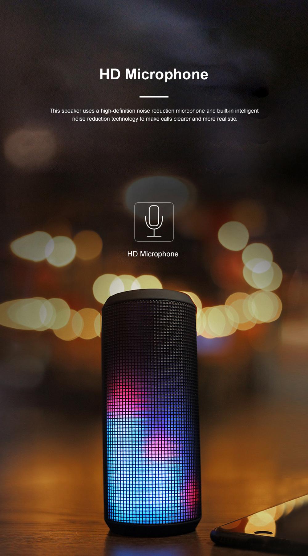 T900 Mini Multifunctional Portable Long Endurance Wireless Bluetooth Loudspeaker Box Speaker with Fantasy Light Effects 4