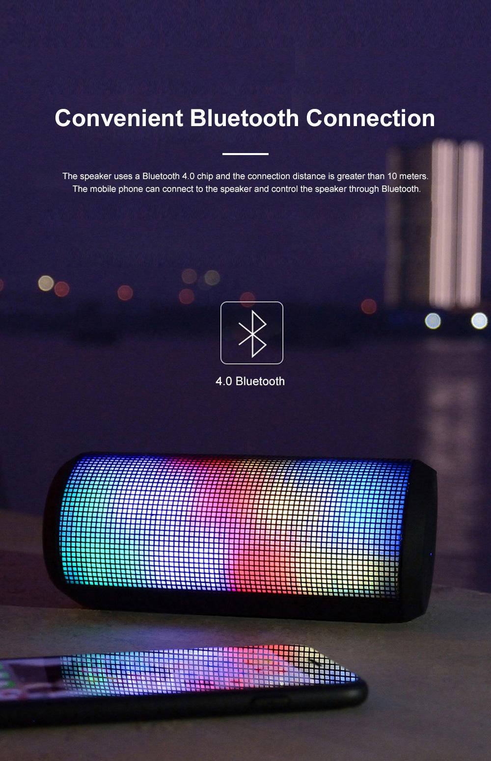T900 Mini Multifunctional Portable Long Endurance Wireless Bluetooth Loudspeaker Box Speaker with Fantasy Light Effects 2