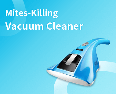 Mites-Killing Vacuum Cleaner