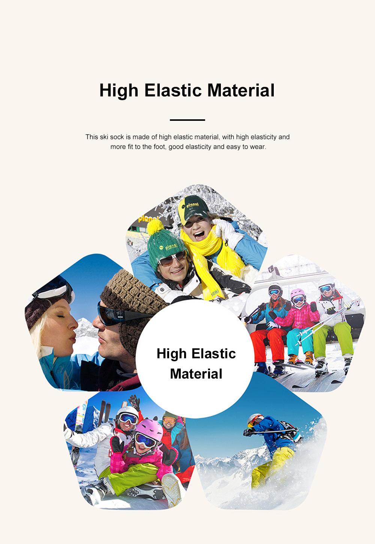 SANTO Outdoor Socks Winter Warm Ski Socks Sports Socks Sweat Absorbing Thickening Socks Long Hiking Socks 4