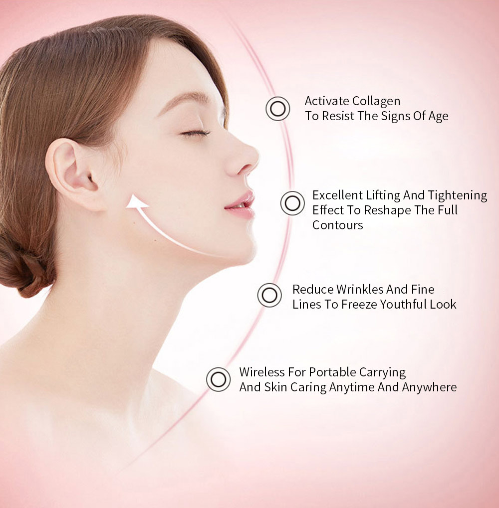 Spectrum Skin Care Mask 32 LED Face Mask with Triple Spectrum Technology for Skin Care Anti Aging Skin Tightening 1
