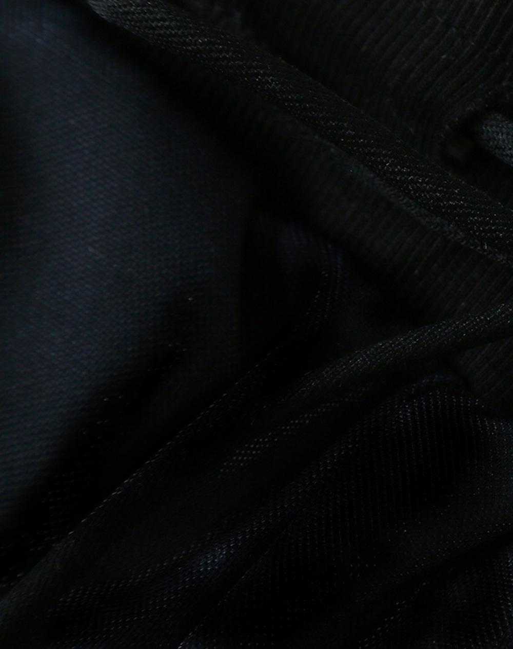 ZVBV 2020 New Style Harem Pants for Women Wear Black Loose Harem Trousers Printed Letter Pattern Sweatpants 11