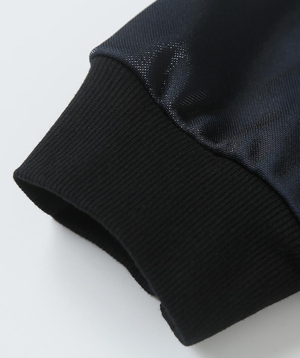 ZVBV European Style Spring Hoodie Fashionable Printing Hoodie Loose Top Coat Long Sleeve Contrast Cover Hoodie 13