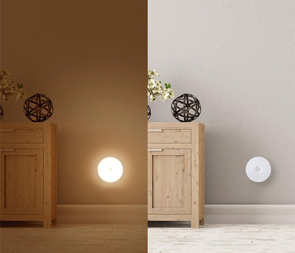 Dual Induction Night Light for Family Aisle Wardrobe Strong Magnetic Nail Free Night Lamp Body Induction Eye Protective Lamp 10