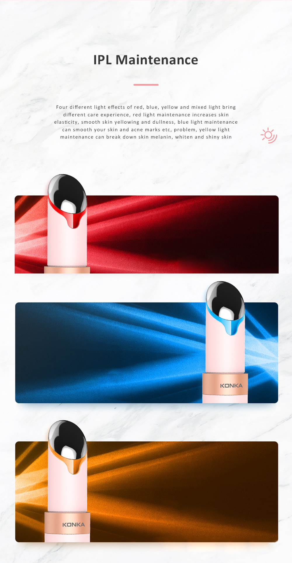 Personal Skin Care Beauty Equipment USB Vibration Facial Eye Massager Modes Eye Care Heat Functions Rechargeable 1