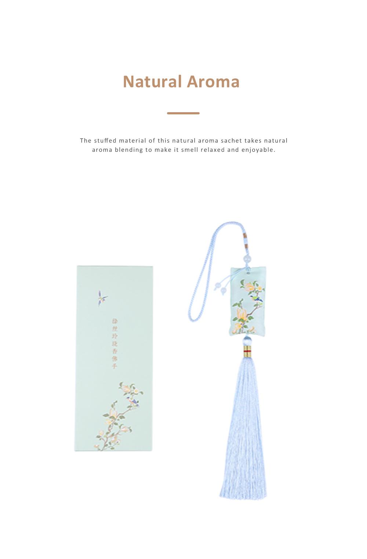 Natural Aroma Sachet for Gift Choice Car Decoration Floral and Plants Series Sachet Durable Natural Perfume Sachet 3