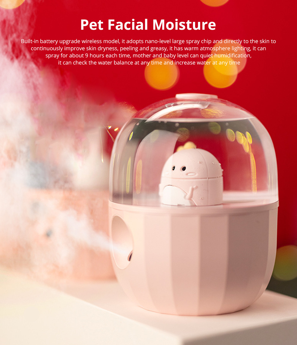 Nano Pet Facial Mister Moisture Atomization For Eyelash Extensions Portable Nanometer Face Hydration Sprayer With USB Rechargeable 0