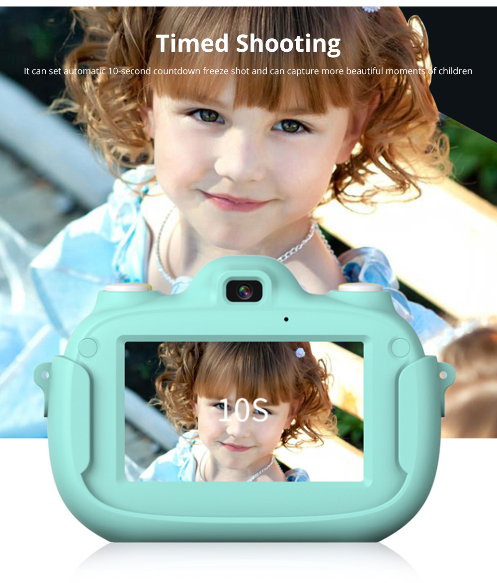 3.0 Inch IPS HD Touch Screen Shockproof Child Digital Selfie HD Camera Camcorder With 28MP Wifi Kids Children Video Camera 10