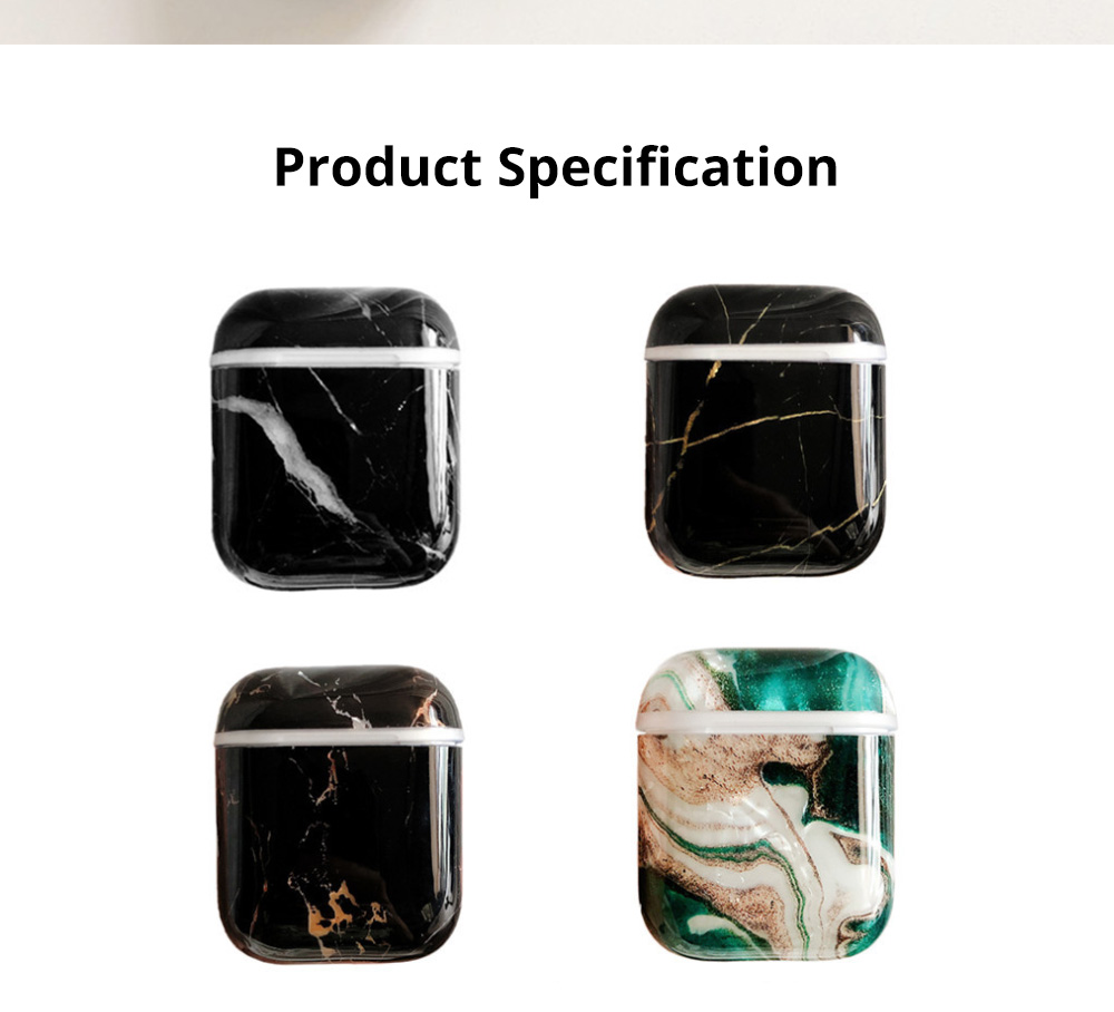 For Air Pods TPU Case Colorful Marble Pattern Protective Cover For Air-pods 2 Wireless Silcone Earphone Case Hard 7