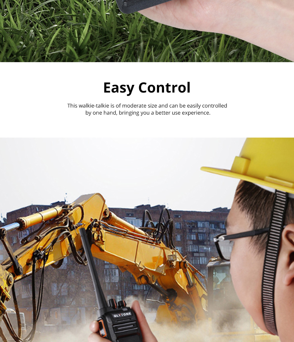 Civil Wireless Walkie-talkie High-power Long-distance Civil Wireless Handset IP67 Waterproof Outdoor Rescue Handset 6