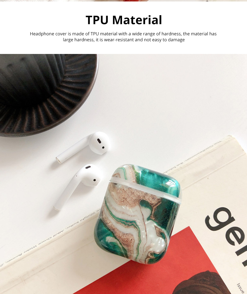 For Air Pods TPU Case Colorful Marble Pattern Protective Cover For Air-pods 2 Wireless Silcone Earphone Case Hard 2