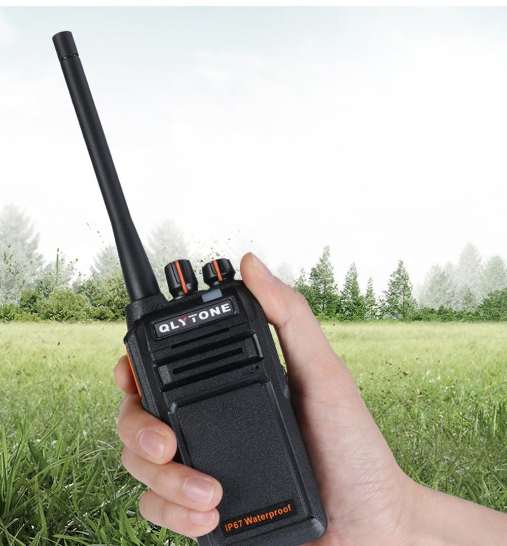 Civil Wireless Walkie-talkie High-power Long-distance Civil Wireless Handset IP67 Waterproof Outdoor Rescue Handset 5