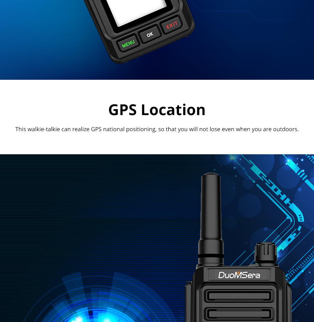 National Walkie-talkie 4G All Network Plug-in Wireless Walkie-talkie 5000 KM Unlimited Distance for Outdoor Handsets Intercom 4