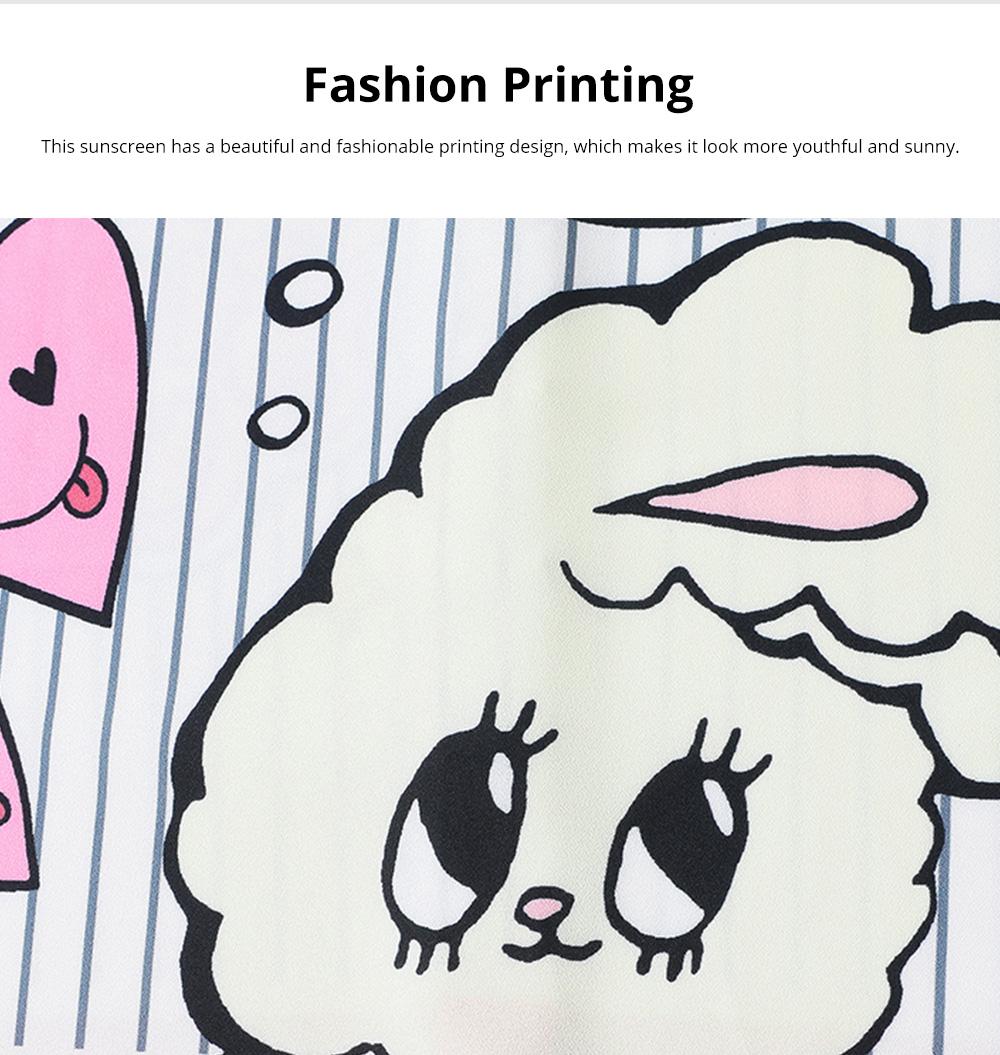 ZVBV 2020 Spring New Loose Korean Fashion Half Sleeve Sun Proof Shirt Fashionable Women's Wear Personalized Leisure Medium Long Shirt 3