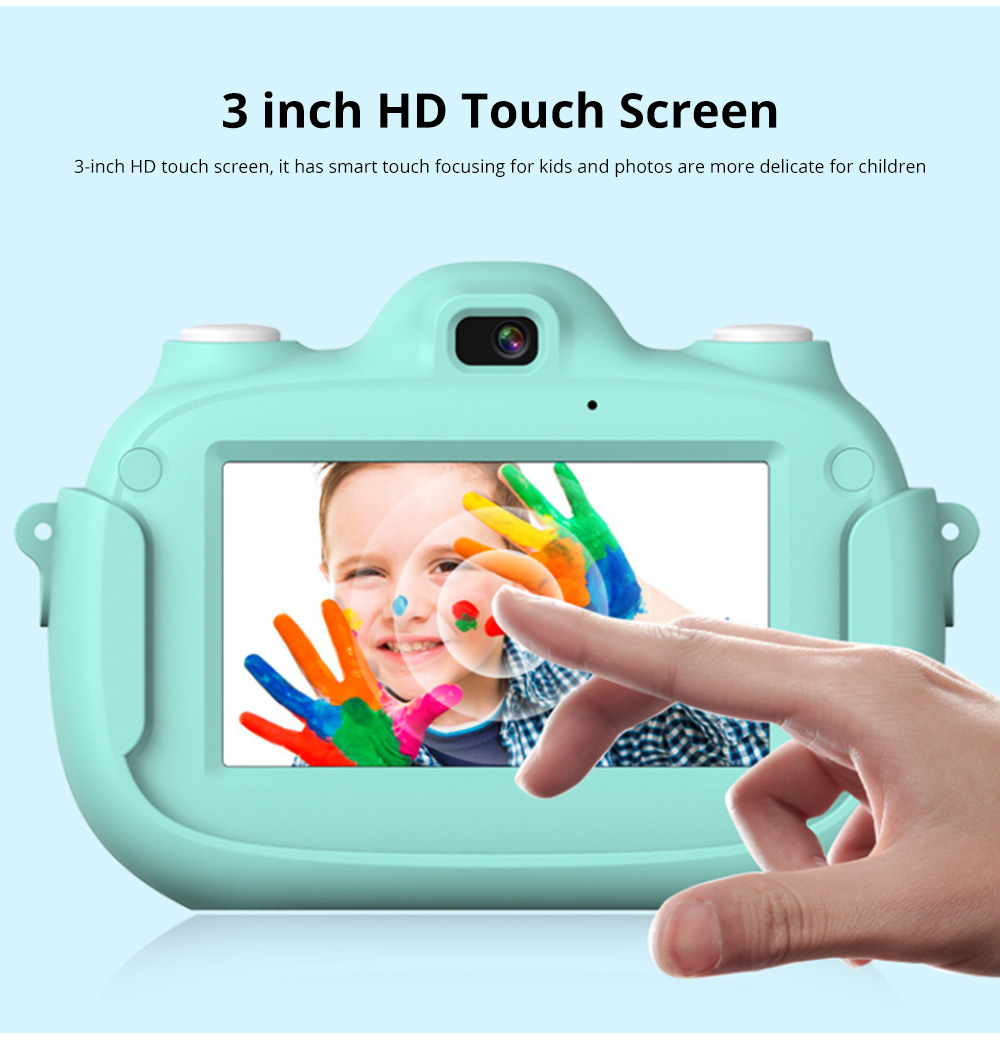 3.0 Inch IPS HD Touch Screen Shockproof Child Digital Selfie HD Camera Camcorder With 28MP Wifi Kids Children Video Camera 5