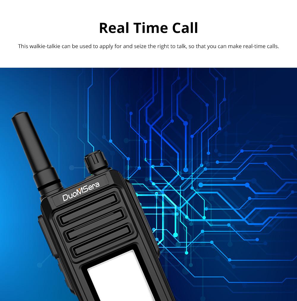 National Walkie-talkie 4G All Network Plug-in Wireless Walkie-talkie 5000 KM Unlimited Distance for Outdoor Handsets Intercom 3