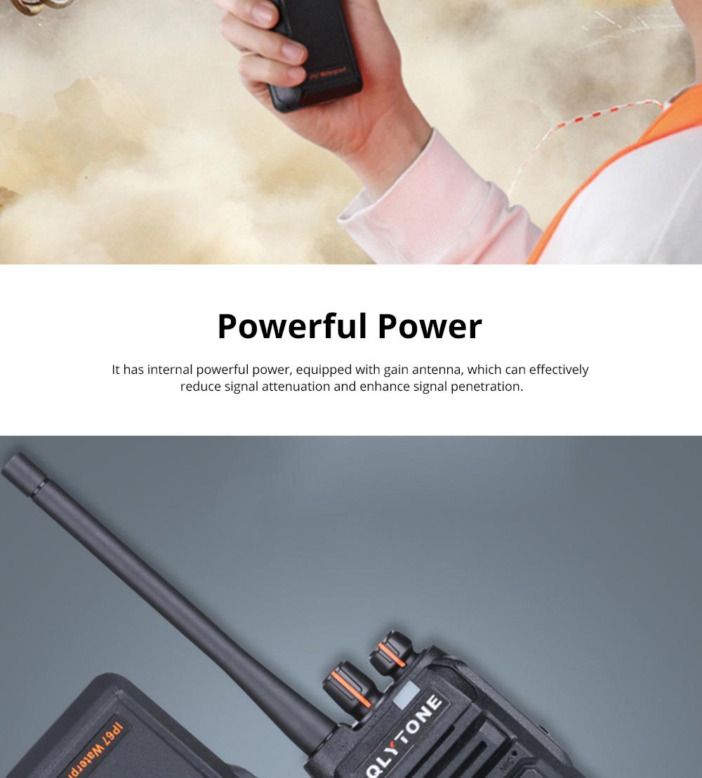 Civil Wireless Walkie-talkie High-power Long-distance Civil Wireless Handset IP67 Waterproof Outdoor Rescue Handset 7