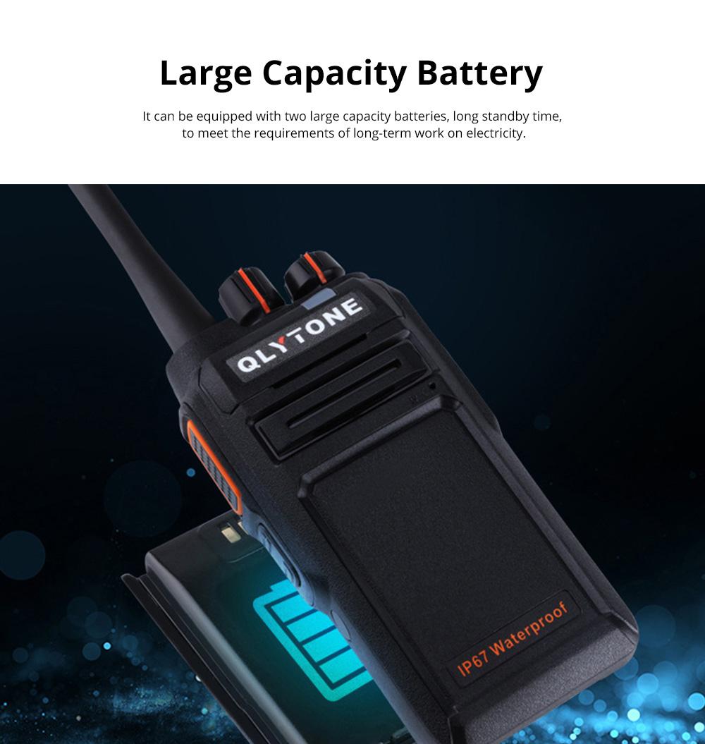 Civil Wireless Walkie-talkie High-power Long-distance Civil Wireless Handset IP67 Waterproof Outdoor Rescue Handset 10