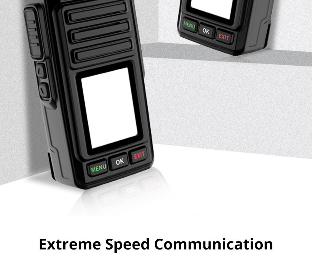 National Walkie-talkie 4G All Network Plug-in Wireless Walkie-talkie 5000 KM Unlimited Distance for Outdoor Handsets Intercom 1
