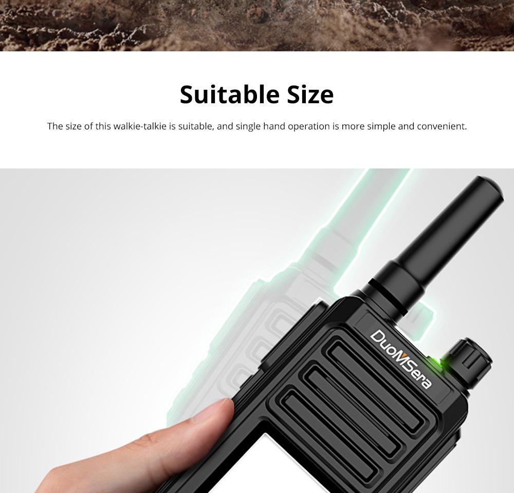 National Walkie-talkie 4G All Network Plug-in Wireless Walkie-talkie 5000 KM Unlimited Distance for Outdoor Handsets Intercom 7