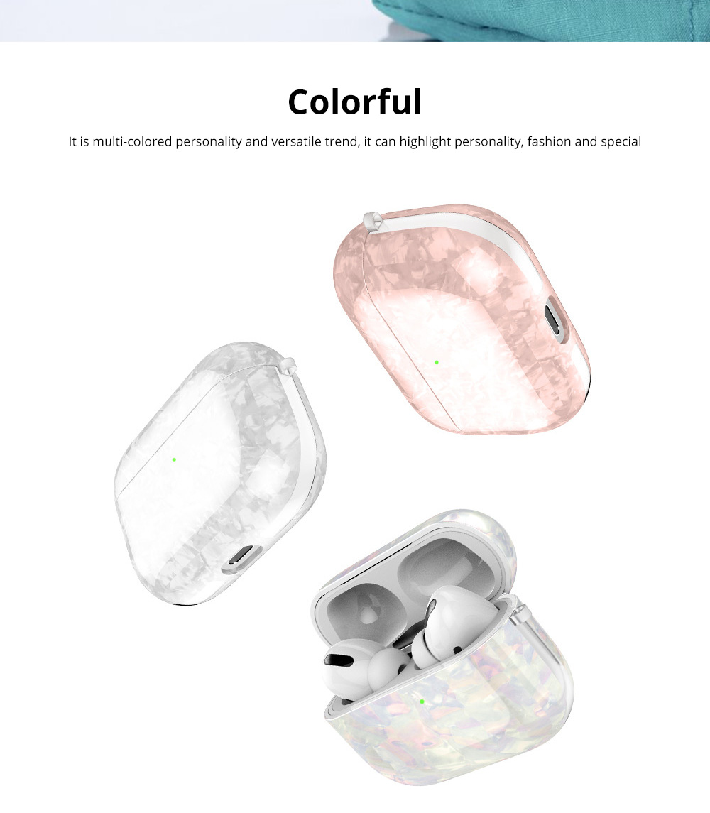 New Design Slim IMD Shell Pattern Shockproof Anti Scratch Protective Fit Soft TPU Bluetooth Earphone Cover Case For Airpods Pro 11