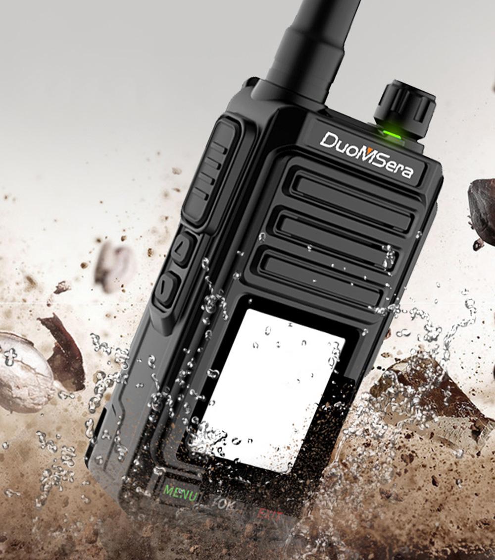 National Walkie-talkie 4G All Network Plug-in Wireless Walkie-talkie 5000 KM Unlimited Distance for Outdoor Handsets Intercom 6