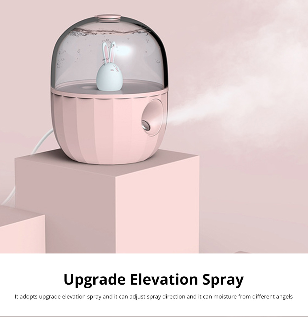 Nano Pet Facial Mister Moisture Atomization For Eyelash Extensions Portable Nanometer Face Hydration Sprayer With USB Rechargeable 8