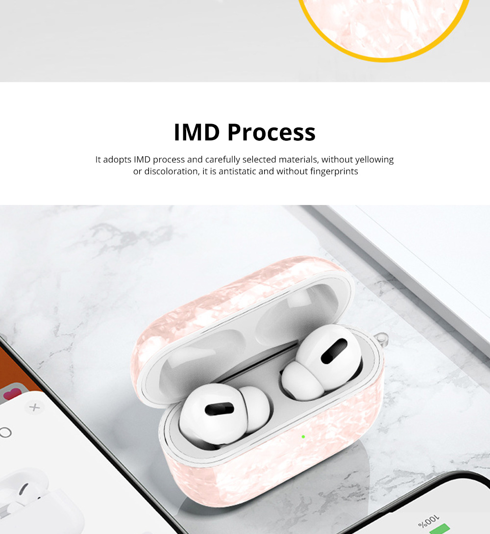 New Design Slim IMD Shell Pattern Shockproof Anti Scratch Protective Fit Soft TPU Bluetooth Earphone Cover Case For Airpods Pro 7