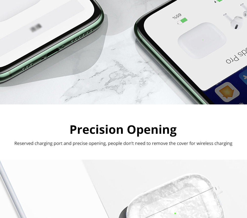 New Design Slim IMD Shell Pattern Shockproof Anti Scratch Protective Fit Soft TPU Bluetooth Earphone Cover Case For Airpods Pro 8
