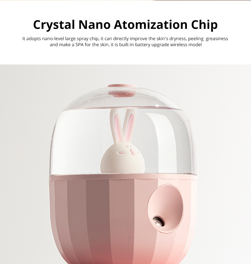 Nano Pet Facial Mister Moisture Atomization For Eyelash Extensions Portable Nanometer Face Hydration Sprayer With USB Rechargeable 1