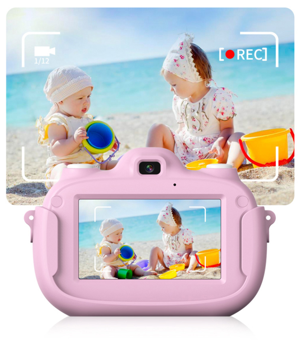 3.0 Inch IPS HD Touch Screen Shockproof Child Digital Selfie HD Camera Camcorder With 28MP Wifi Kids Children Video Camera 19