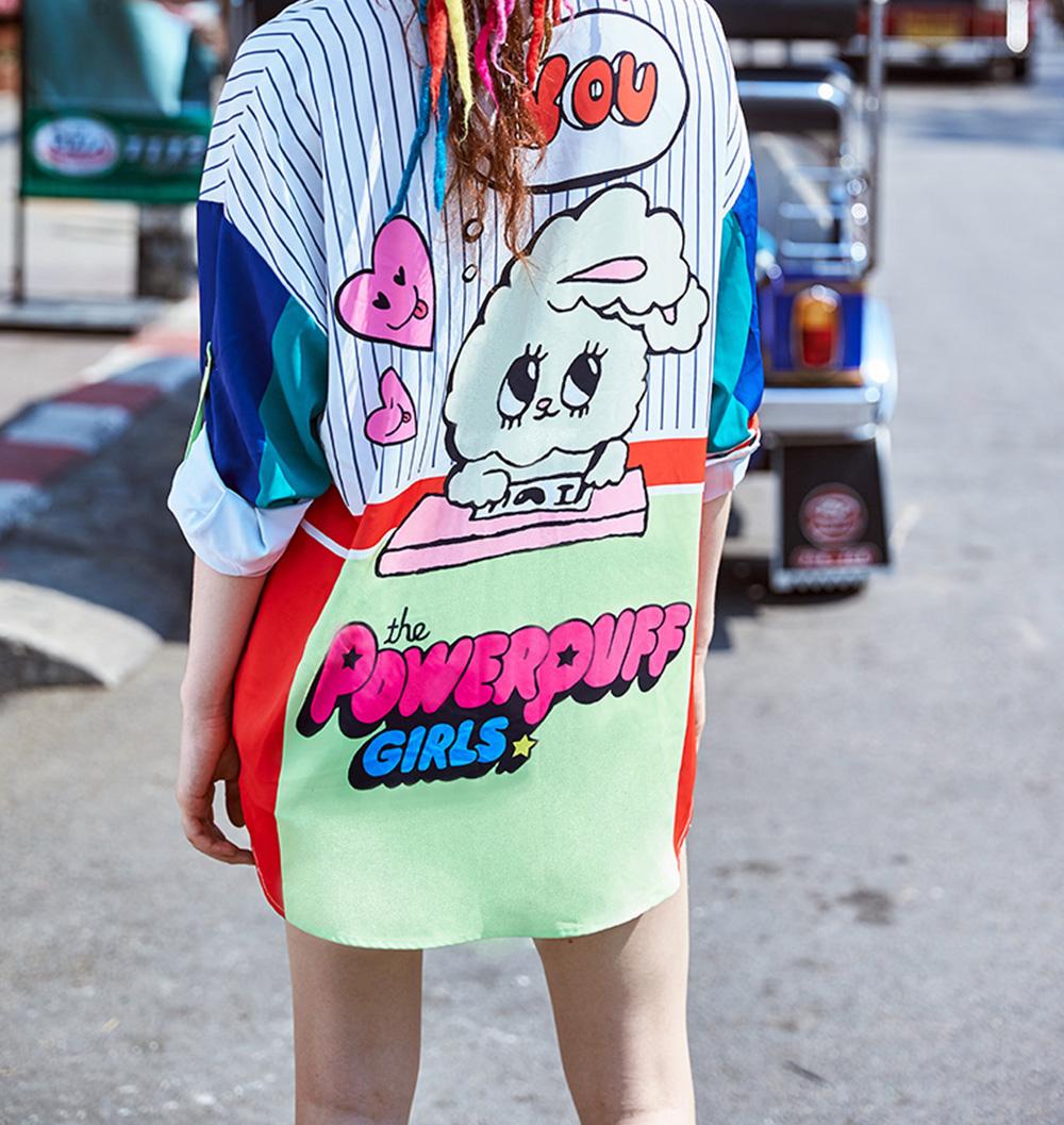 ZVBV 2020 Spring New Loose Korean Fashion Half Sleeve Sun Proof Shirt Fashionable Women's Wear Personalized Leisure Medium Long Shirt 9