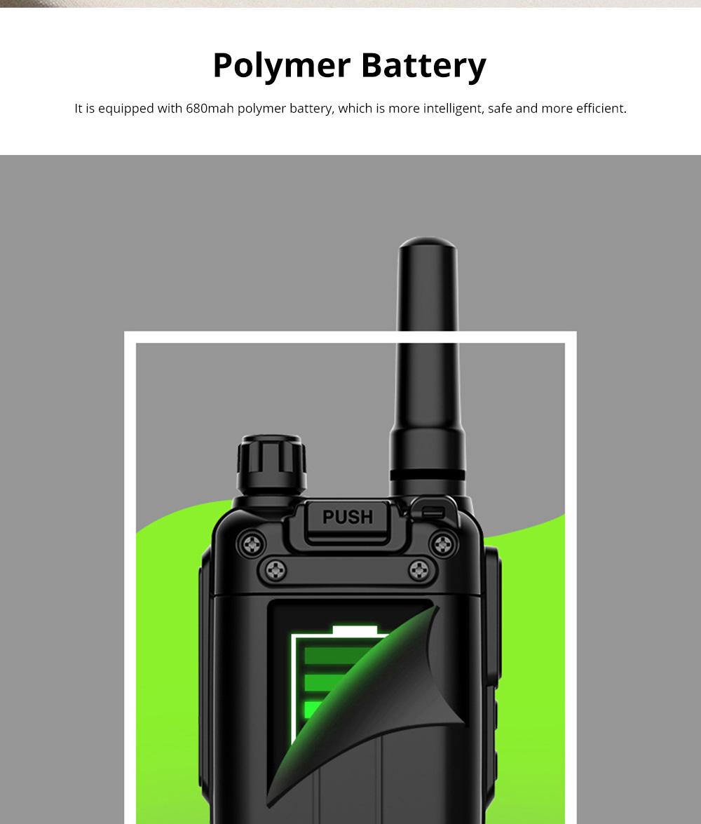 National Walkie-talkie 4G All Network Plug-in Wireless Walkie-talkie 5000 KM Unlimited Distance for Outdoor Handsets Intercom 11