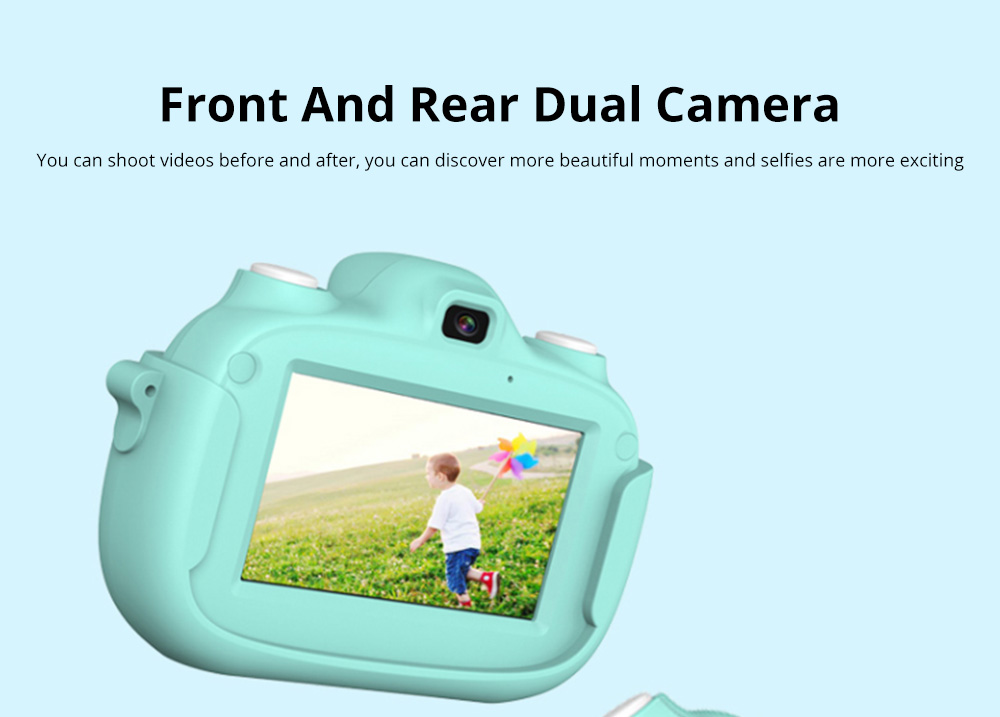 3.0 Inch IPS HD Touch Screen Shockproof Child Digital Selfie HD Camera Camcorder With 28MP Wifi Kids Children Video Camera 8