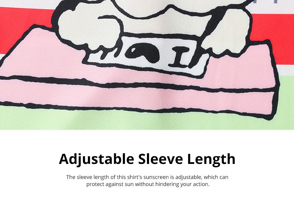 ZVBV 2020 Spring New Loose Korean Fashion Half Sleeve Sun Proof Shirt Fashionable Women's Wear Personalized Leisure Medium Long Shirt 4